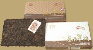 Haiwan 9908 Cha Tou Pu-erh Brick