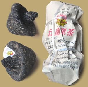 Baoyan Mushroom Raw Pu-erh