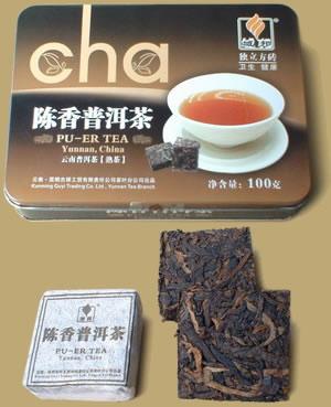 Chenxiang Pu-erh Teablock