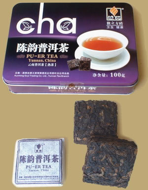 Chenyun Pu-erh Teablock